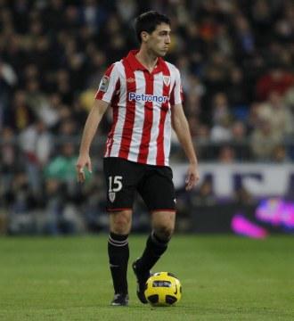 Andoni Iraola, en un partido con el Athletic.