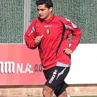 Castro tras un entrenamiento.