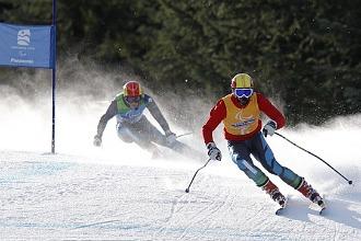 Jon Santacana y Miguel Galindo en los pasados Juegos Paralímpicos de Vancouver.