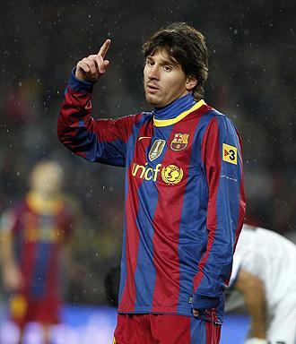Messi, durante el �ltimo Cl�sico.