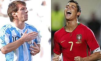 Leo Messi y Cristiano Ronaldo, frente a frente los dos mejores jugadores del mundo