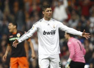 Ronaldo, en el Madrid-Valencia de la temporada pasada