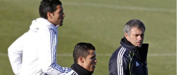 CR7, Mou y Garay
