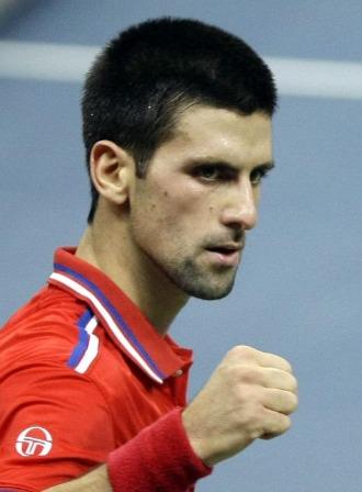 Djokovic, en el duelo de Copa Davis
