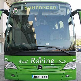 Autob�s del Racing de Santander