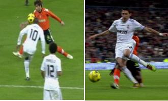 Las jugadas m�s pol�micas del Real Madrid-Valencia.