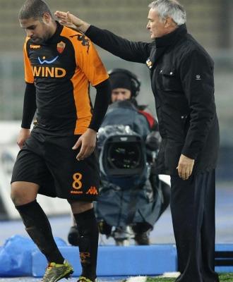 Ranieri, con Adriano