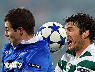 El partido entre Bursaspor y Rangers s�lo ofreci� lucha y garra entre los dos equipos