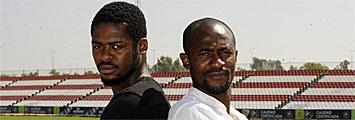 Didier Zokora y Koffi Romaric
