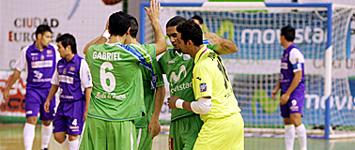 Inter Movistar 4-0 Gestesa Guadalajara