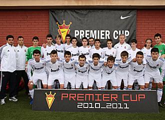Plantilla del Cadete B del Real Madrid que se clasific� para la fase final de la Nike Premier Cup