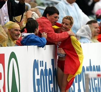 Marta Dom�nguez y Odriozola se abran tras el �xito de la palentina en los europeos de Goteborg.