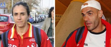 Nuria Fern�ndez y Reyes Est�vez