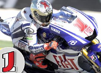 El fotomontaje de c�mo lucir� el n�mero 1 en la c�pula de la moto de Lorenzo.