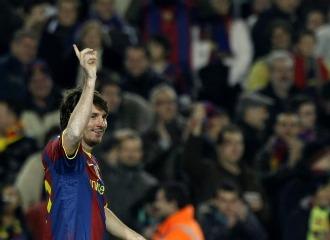 Leo celebra uno de sus tantos