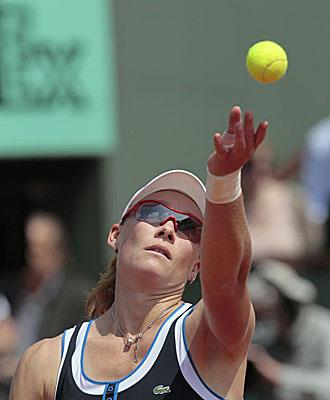 Samantha Stosur en Roland Garros 2010