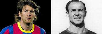 Messi y C�sar