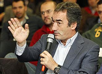 Lozano durante las jornadas de F�tbol Sala.