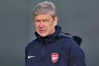 Arsene Wenger, t�cnico del Arsenal