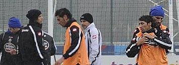 Urreta y Antonio Tom�s tuvieron que ser separados