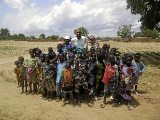Kanout�, en la Ciudad de los ni�os de Mali