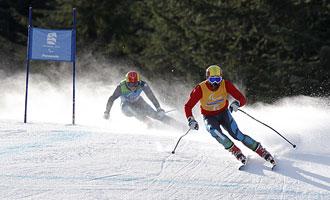 Jon Sanatacana y Miguel Galindo en los pasados Juegos Paralímpicos de Vancouver.