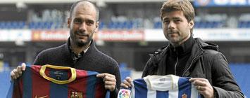 Guardiola y Pochettino