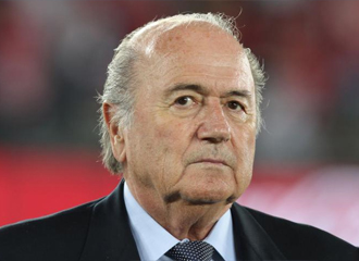 Blatter, presidente de la FIFA