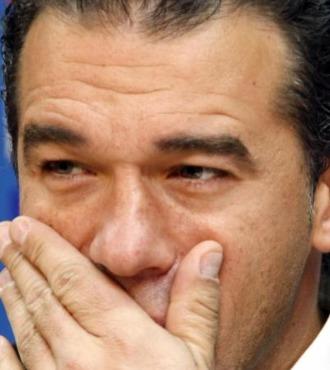 Luis Garc�a, en rueda de prensa.