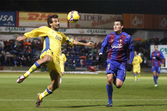 Rigo, en su anterior etapa en el Huesca