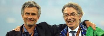 Mou y Moratti