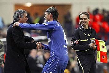Mourinho y Sergio Ramos