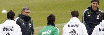 Entrenamiento del Madrid