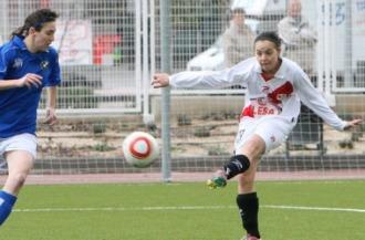 Claudia, momentos antes del 6-0.