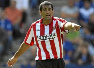 Da Silva durante un encuentro de la pasada pretemporada con el Sunderland