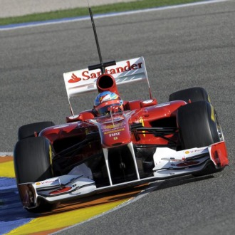Alonso, a los mandos de su F150 este mi�rcoles en Cheste