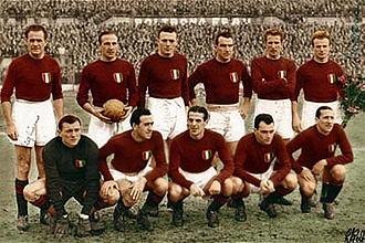 El once inicial del gran Torino