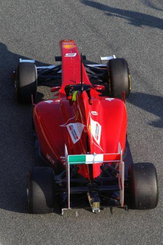 Felipe Massa, a los mandos de F150th Italia en Jerez