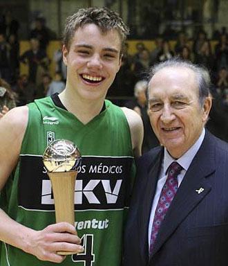 Albert Real, MVP de la Minicopa ACB
