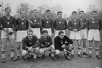 La selección húngara conocida como el Equipo de Oro o los Mágicos Magyares