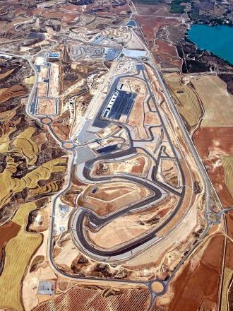Circuito Alcañiz : El circuito motorland de alcañiz acogerá el mundial de motogp hasta