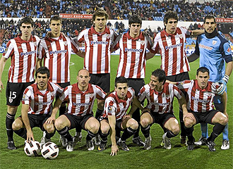 Once del Athletic ante el Zaragoza.