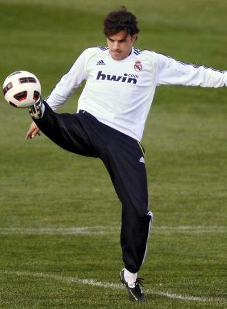 Pedro Le�n, en un entrenamiento