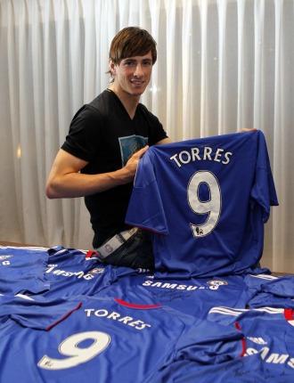 Fernando Torres posa para MARCA
