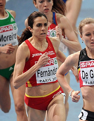 Nuria Fernández, en el último Europeo.