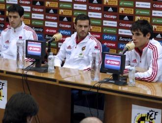 Los tres jugadores que pasaron por sala de prensa