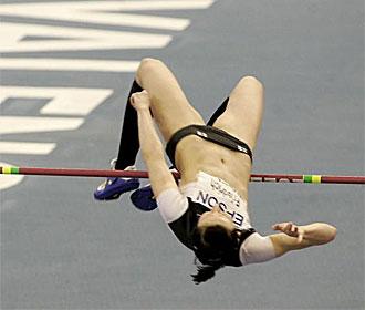 Ariane Friedrich, durante una competici�n.