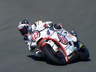 Yuki Takahashi, en acci�n en Jerez