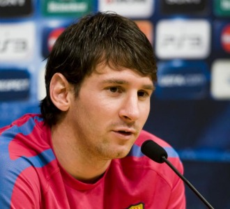 Messi, en rueda de prensa