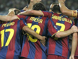 El tridente Messi-Villa-Pedro atraviesa su peor momento goleador